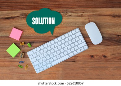 Solution, Business Concept