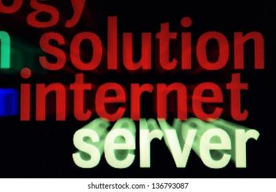 Solution internet server