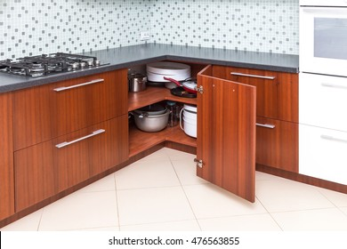 1000+ Kitchen Corner Cabinet Stock Images, Photos & Vectors ...