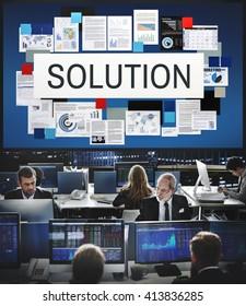 Solution Sovling Problem Improvement Decision Concept