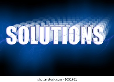 Solutions Illustration 3-D
