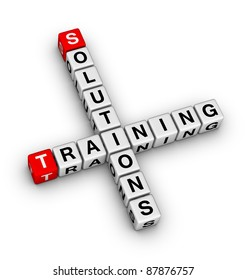 solutions and training crossword