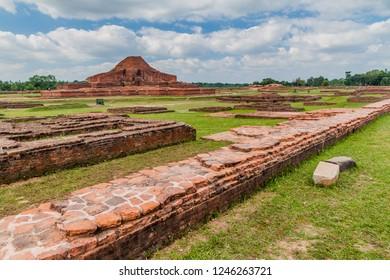 Somapuri Vihara (Somapura Mahavihara), ruins of Buddhist monastic complex in Paharpur village, Bangladesh
