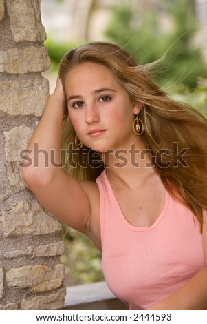 Sultry teen