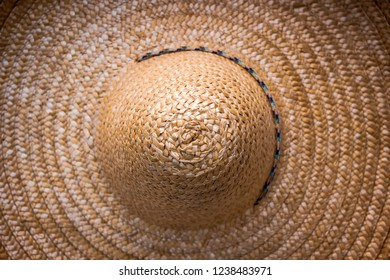 Sombrero, top view. Close-up. - Shutterstock ID 1238483971