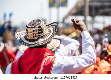 Sombrero vueltiao traditional hat of  colombian caribbean coast.