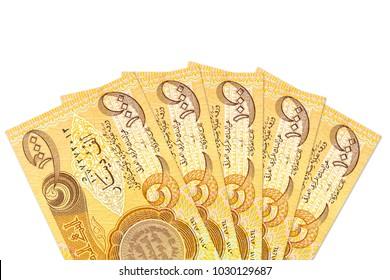 some 1000 iraqi dinar bank notes obverse