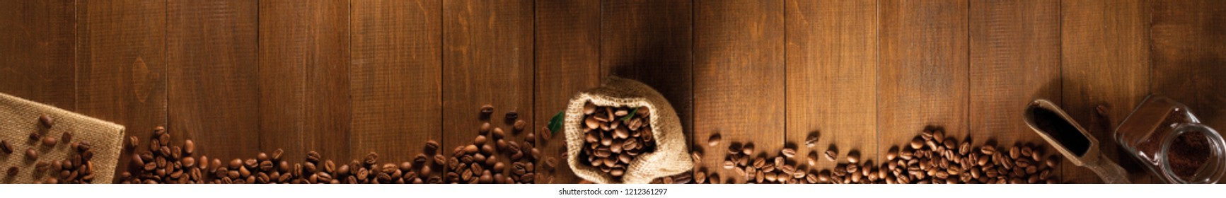 Some aromatic coffee beans.