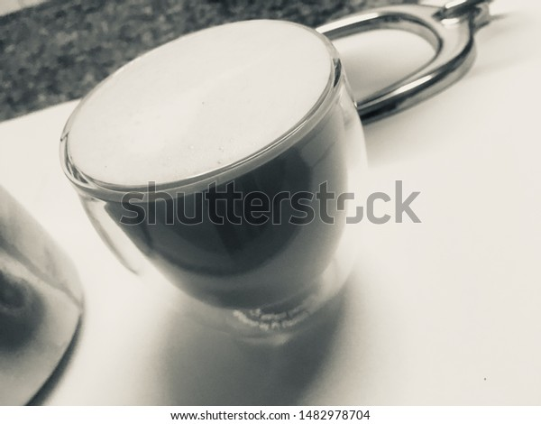Some Coffee Served Coffee Mugs Others Stock Photo Edit Now 1482978704