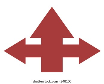 some confused arrows