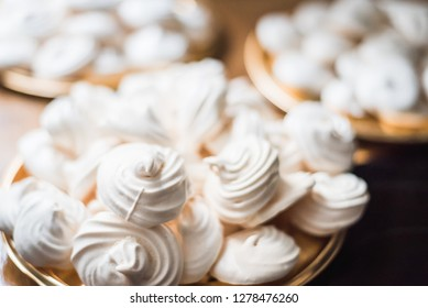 Some delicious French homemade meringues