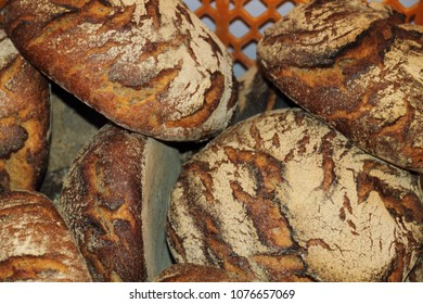 some fresh country breads