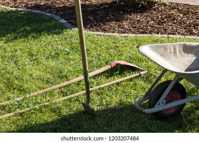 some gardening tools
