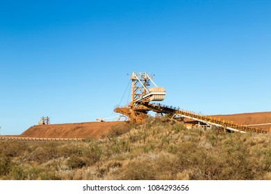 some of the infrastructure for mining iron ore