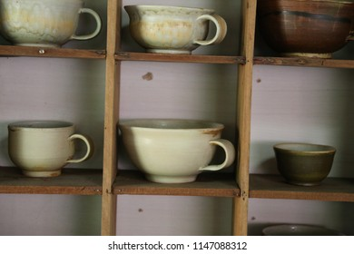 some mug on the shelf