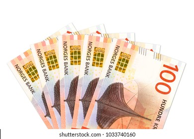 some new 100 norwegian krone bank note obverse