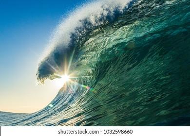 some ocean waves