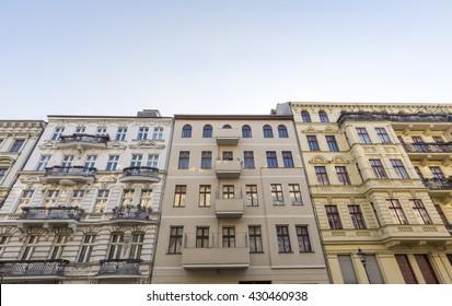 some old houses in Berlin Kreuzberg