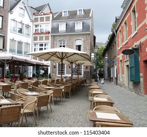 Some restaurants in the city Aachen in Germany
