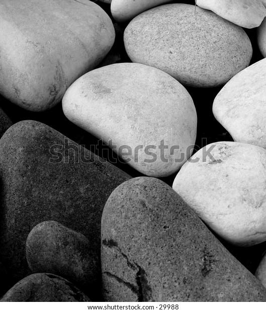 Some Rocks in B&W
