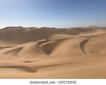 some sand dune impressions