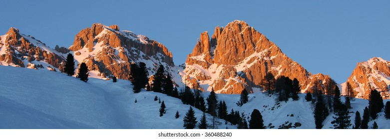 Some view of  Dolomiti (Veneto Italy) called in this way for the discoverer mr Dolomieu ,that found the typical pink colour of these mountains during sunset time