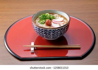 somen japanese noodles soy soup
