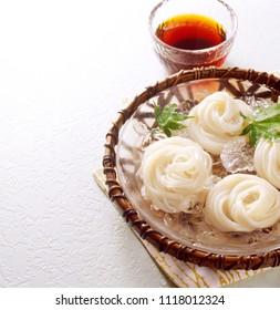 Somen(Japanese fine noodles)