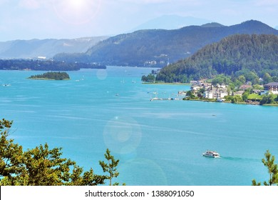 Sometimes called the Caribbean of the Alps, Worthersee is one of the larger lakes in Europe located in Austria