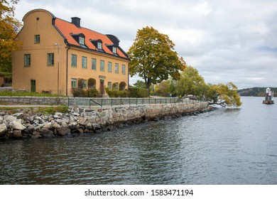 Somewhere in city of Stockholm on the Baltic sea, Sweden