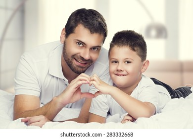 To and son for Father's Day