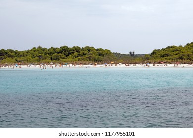 Son Laura beach, Menorca island, Balearic islands, Spain