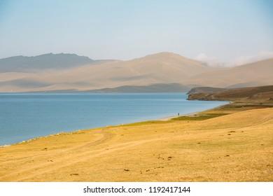 Song Kul Lake landscape