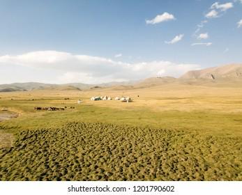 Song Kul landscape