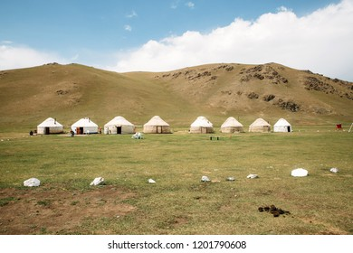 Song Kul yurt camp