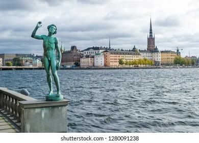 Song statue in Stockholm, Sweden