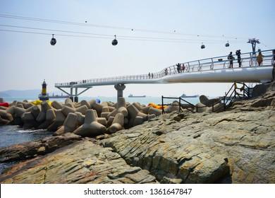 Songdo cable car, Busan, South Korea