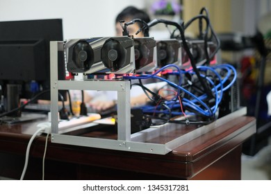 Gpu Rig Images, Stock Photos & Vectors | Shutterstock