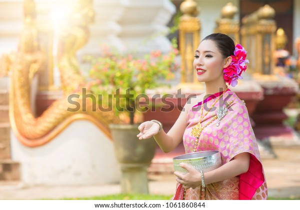 Songkran festival culture in thailand, Songkran Festival in Thailand , Thai traditional,