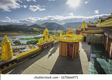 Songzanlin Monastery   is located in Shangri-La (Chong Dian), China, which is also known as Potala Noi Temple  Because this temple is modeled from Potala Palace in Lhasa, Tibet
