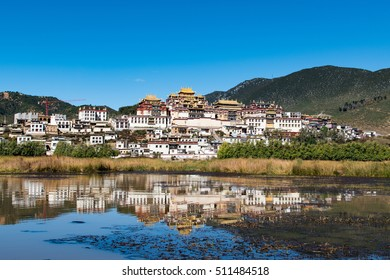 Songzanlin monastery/ Tibet temple Style in China