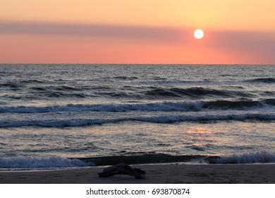 sonne nordsee ostsee beach