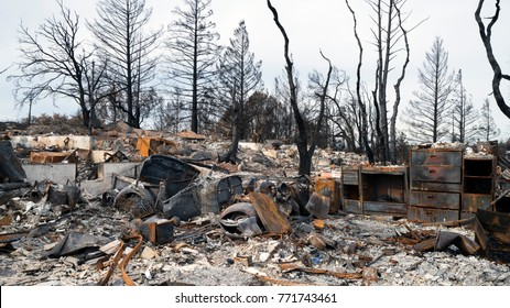 Sonoma & Napa Valley Wildfires have left behind a trail of destruction, arbitrarily lost homes and belongings.