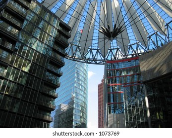 Sony Center in Potsdamer Platz, Berlin
