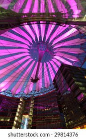 Sony center in Potsdamer Platz in Berlin, Germany
