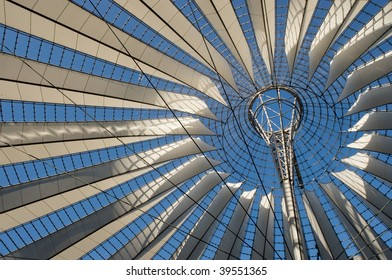 Sony Center roof at Potsdamer Platz, Berlin