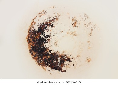 soot stain from the pans