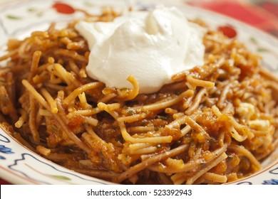 Sopa Seca, the Mexican Noodle Casserole