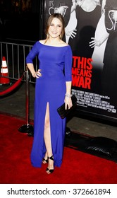 """Sophia Bush at the Los Angles Premiere of """"This Means War"""" held at the Grauman's Chinese Theater, California, United States on February 8, 2012."""