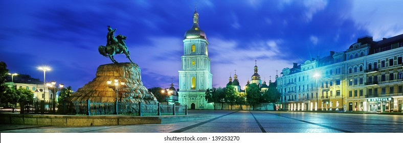 Sophia Square is one of the most beautiful, historic and well-known in Ukraine